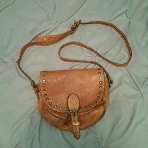 Patricia Nash Leather crossbody  satchel